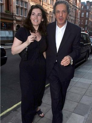 Nigella Lawson and ex-husband Charles Saatchi