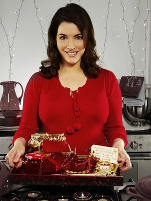 Nigella Lawson in Nigellas Christmas Kitchen in 2008