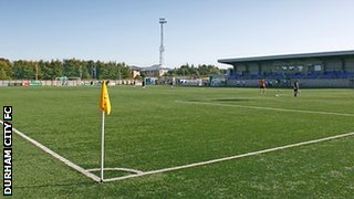 New Ferens Park, home to Durham City FC