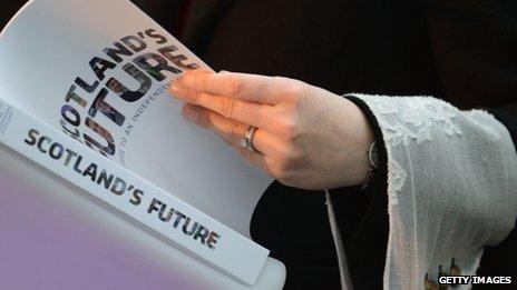 Scotland's Future document