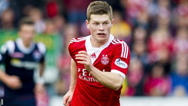 Aberdeen forward Cammy Smith