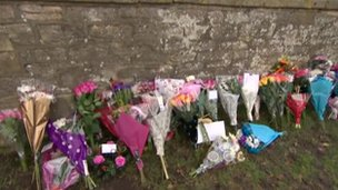 Flowers for Jayden at All Saints' Church