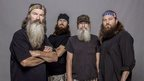 From left, Phil Robertson, Jase Robertson, Si Robertson and Willie Robertson from the A&E series Duck Dynasty
