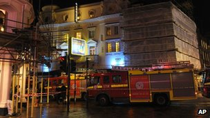 Emergency services at Apollo Theatre