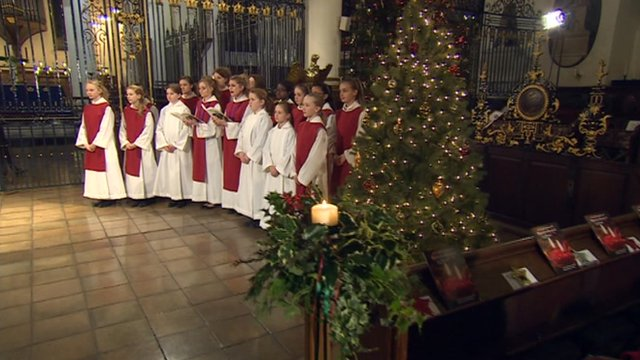 Derby Cathedral choir