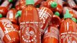 Bottles of Sriracha Chili Sauce