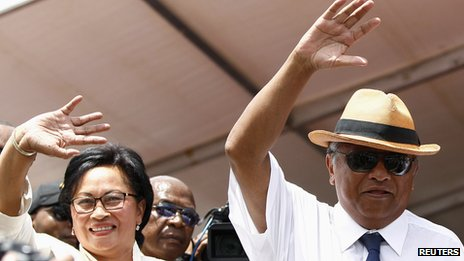 Madagascar in second-round poll