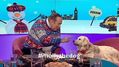 Andrew Neil and Molly