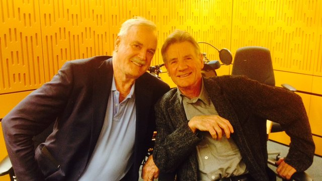 John Cleese and Michael Palin from Monty Python