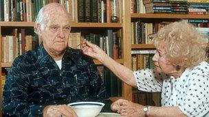 Husband with Alzheimer's