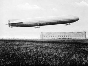 World War 1 Zeppelin
