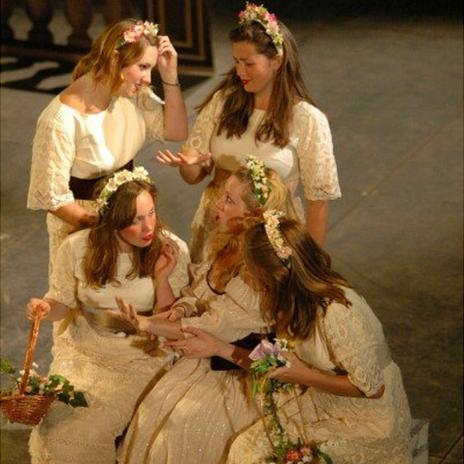 Sophie Bevan and her sisters
