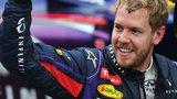 World champion Sebastien Vettel