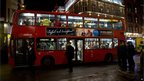 Three London buses were commandeered to ferry some of the injured and shocked to hospital.