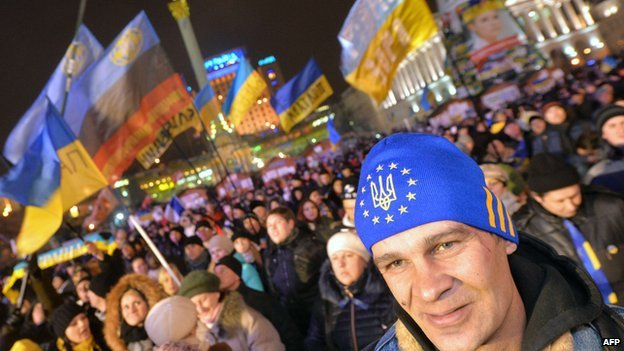 Ukraine opposition rally in Kiev, 17 Dec 13