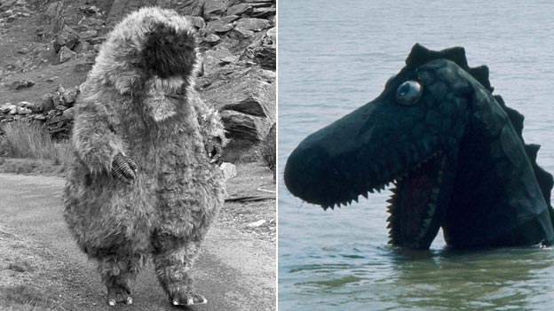 Yeti and Nessie