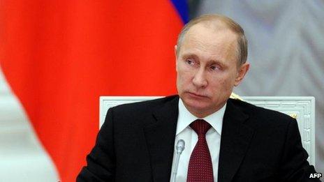 Vladimir Putin, 20 Dec