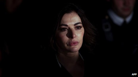 Nigella Lawson leaves court after giving evidence