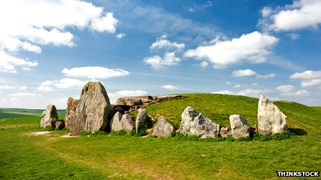 West Kennet long barrow, Wiltshire