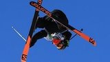 British ski slopestyler James Woods