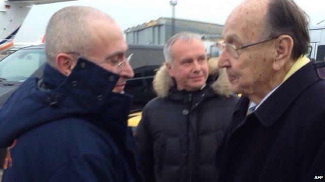 Mikhail Khodorkovsky and Hans-Dietrich