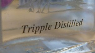 """Tripple distilled"""