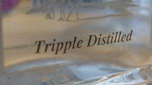 """""""Tripple distilled"""""""