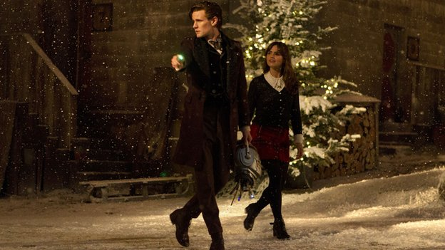 The Doctor and Clara are