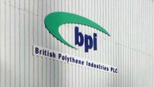 BPI premises in Greenock