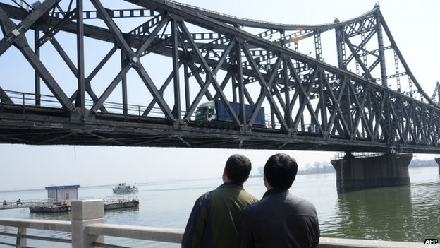 Friendship bridge in Dandong