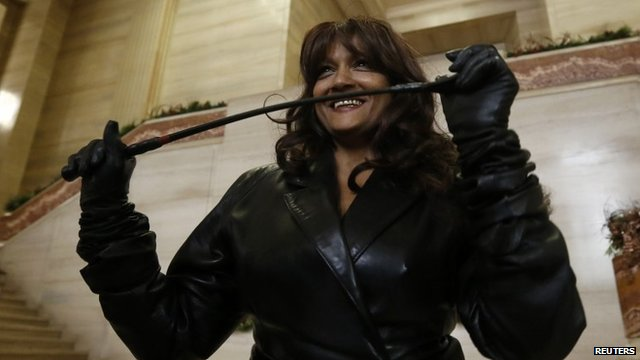 Terri-Jean Bedford, one of three current and former sex workers who initiated a challenge to Canada's prostitution laws
