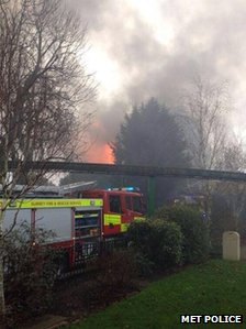 Fire at Chessington