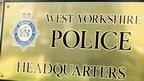 West Yorkshire Police HQ sign