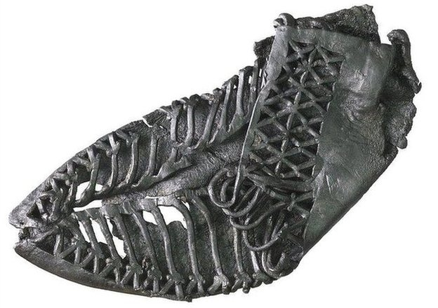 Roman shoe from Walbrook dig