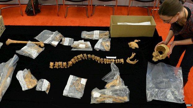 Richard III bones