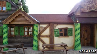Cafe at Chessington World of Adventures