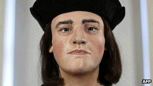 Reconstruction of Richard III