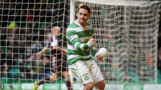 Kris Commons fired Celtic in front