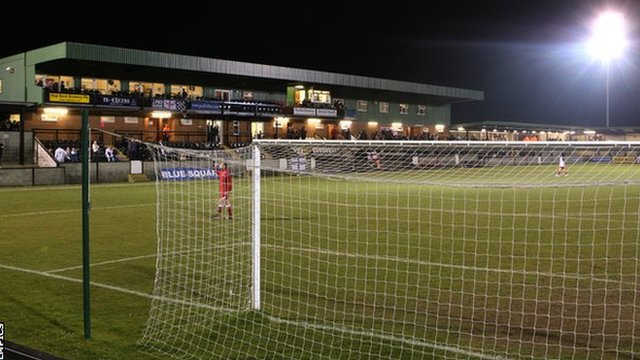 Raymond McEnhill Stadium, home of Salisbury City