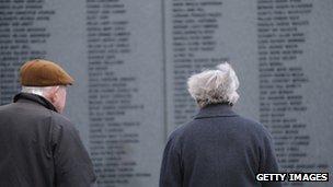 Lockerbie memorial