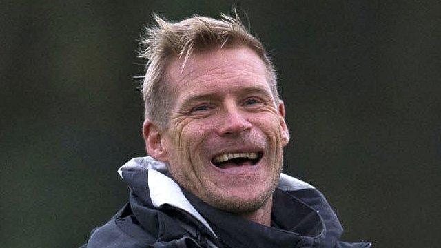 Celtic manager Johan Mjallby