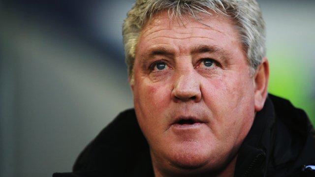 Hull City boss Steve Bruce