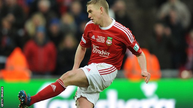 Wrexham's Johnny Hunt