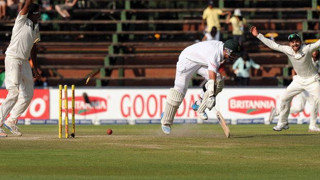 Graeme Smith is run-out