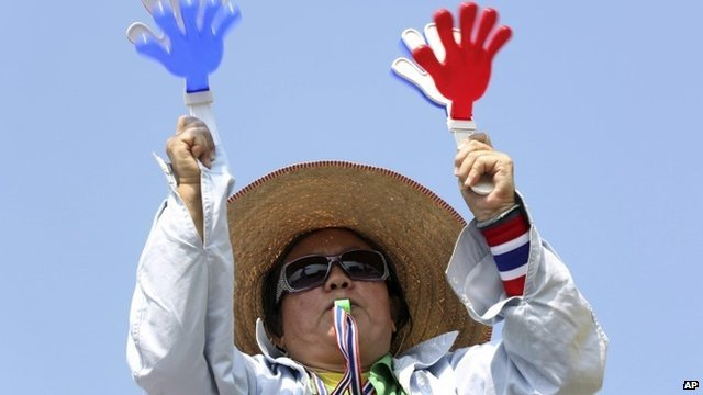 Thai anti-government protester