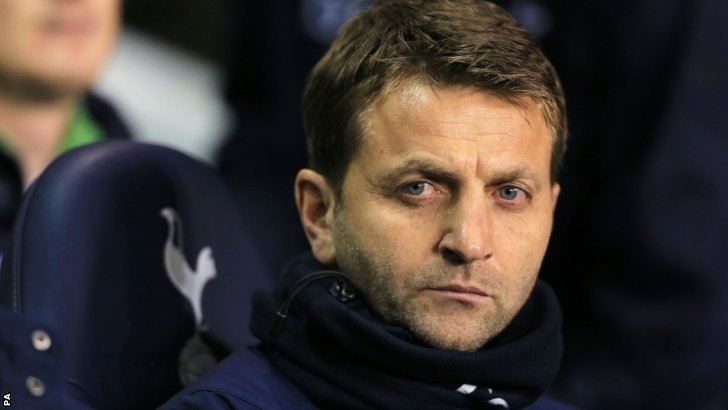 Tottenham's interim head coach Tim Sherwood
