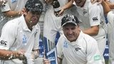 New Zealand celebrate victory
