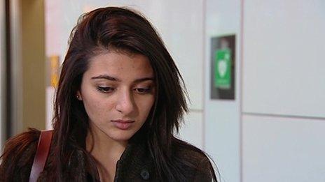 Mr Khan's sister Sara