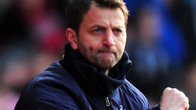 Tottenham interim head coach Tim Sherwood