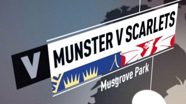 Munster v Scarlets